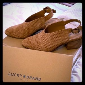 Lucky 🍀 Brand brown booties